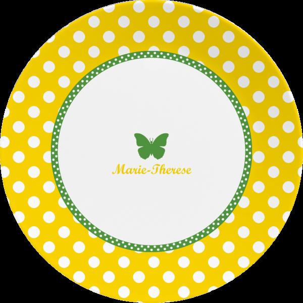 Kollektion Schmetterling - Teller