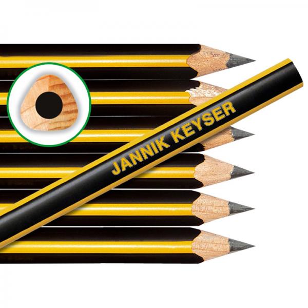 Jumbo-Bleistifte mit Namen