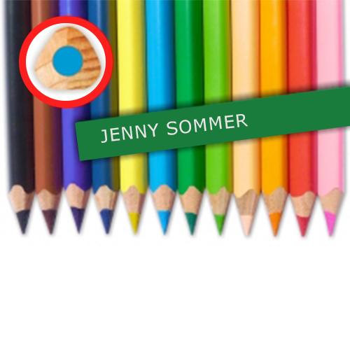Jumbo-Buntstifte mit Namen