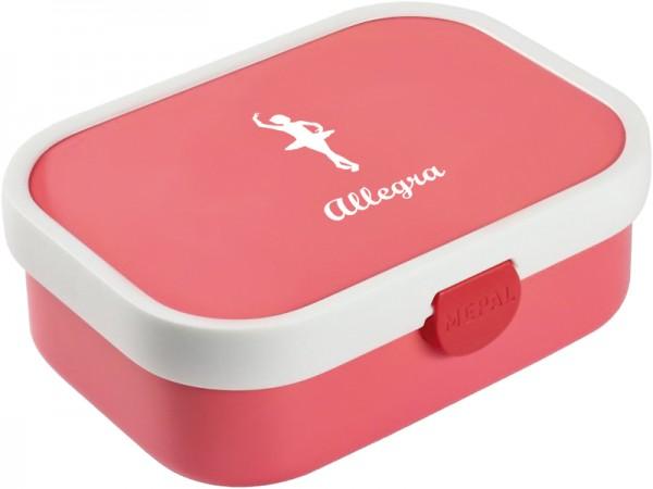 Flamingo pinke Brotdose mit Wunschmotiv und Name